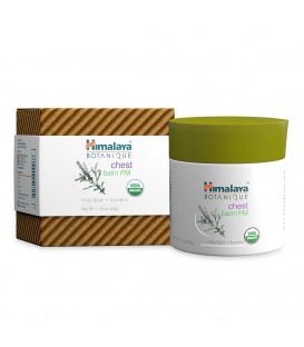 Kojący Eukaliptusowy balsam do masażu z Tulsi i Kurkumą 50g - Himalaya ORGANIQUE (chest balm)