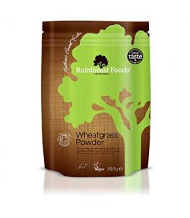 Trawa Pszeniczna BIO w proszku 200g Rainforest Foods