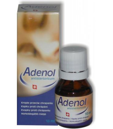 Krople do gardła przeciw chrapaniu 10 ml Adenol