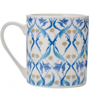 Pukka Herbs Pukka Blue Helix Ceramic Mug 286ml
