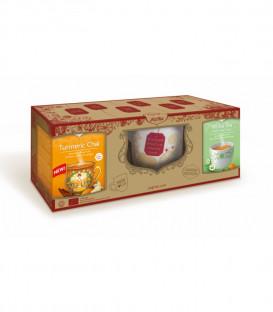 Zestaw Prezentowy:2 herbaty+kubek BIO YOGI TEA szt.
