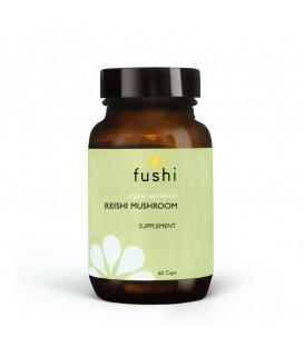 Fushi Wellbeing Reishi Mushroom Capsules Org 60 capsule