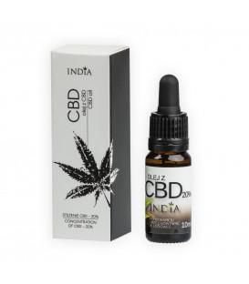 BIO Olej konopny z CBD 20% 10ml India Cosmetics