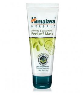 Maska złuszczająco-nawilżająca Himalaya 75ml (Almond & cucumber Peel Off Mask)