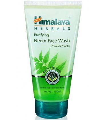 Żel oczyszczający do mycia twarzy z Neem Antybakteryjny Himalaya 150ml (Purifying Neem Face Wash)