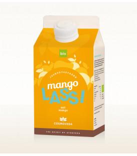 BIO Mango Lassi 500ml Cosmoveda - indyjski koktajl jogurtowy