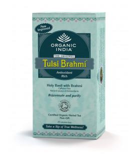 Herbata Brahmi-Tulsi Tea Organic India 25 torebek