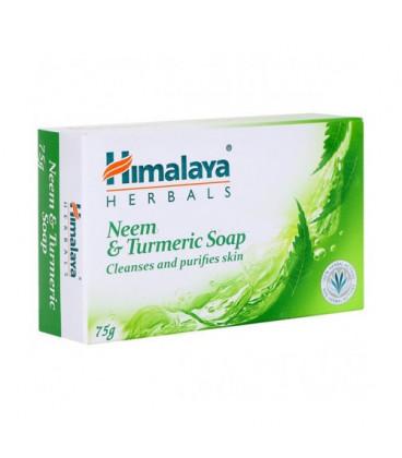 Mydło Neem i Kurkuma 75g Himalaya (Protecting Neem & Turmeric soap)