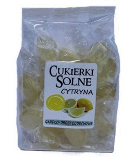 Cukierki o smaku Cytrynowym z solą himalajską 100g