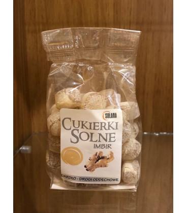 Cukierki o smaku Imbiru z solą kamienną 100g