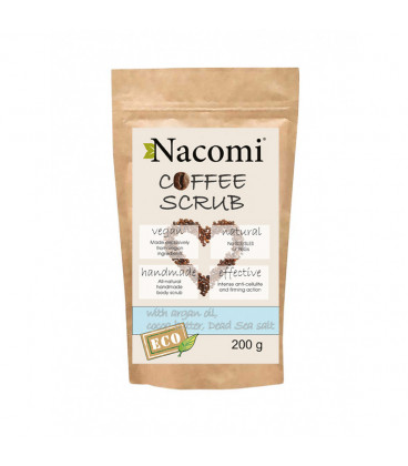 Peeling suchy do ciała - kawa 200g Nacomi