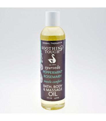 Peppermint & Rosemary Body Spa Oil, 236 ml