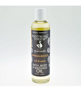 Sandalwood Body Spa Oil, 236 ml