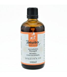 Olejek na mięśnie i stawy Yogeshwar Ayurveda, 100 ml