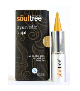 SoulTree Ayurvedic Kajal Tulsi Gold, 3 g