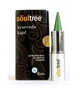 SoulTree Ayurvedic Kajal Tulsi Green, 3 g