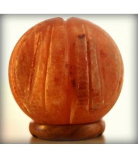 Lampa solna - kula z rzeźbionymi wgłębieniami 15 cm