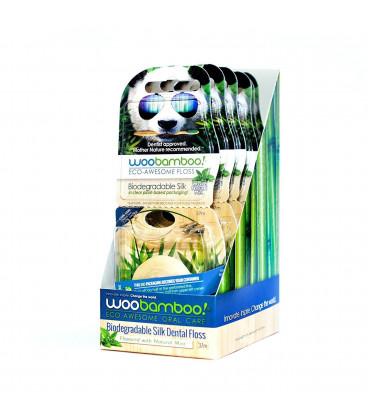 Nić do pielęgnacji zębów miętowa biodegradowalna