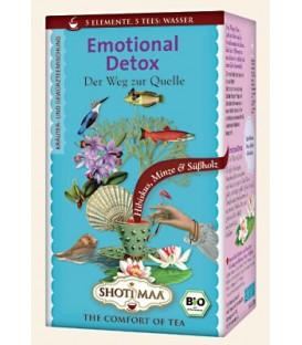 Herbata Emotional Detox (element wody: słodki hibiskus i mięta) 16 torebek, Shoti Maa