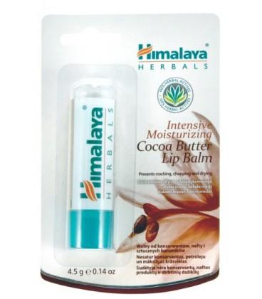 Balsam do Ust Intensywnie Nawilżający z Masłem Kakaowym 4,5g Himalaya Herbals
