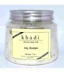 """Ajurwedyjska Sól do Kąpieli """"Nag champa"""" Indyjski afrodyzjak na światową skalę 200g Khadi"""