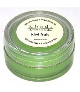Naturalny Balsam do Ust Kiwi (z woskiem pszczelim i masłem shea) 10g Khadi