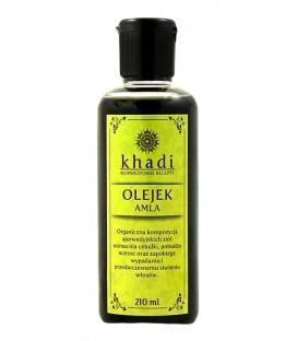 Olejek do Włosów Amla (wspomaga wzrost i pigmentację włosów) 210ml Khadi